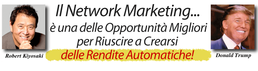 opportunità network marketing