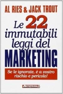 le 22 immutabili leggi del marketing - libro - Al Ries - stefanocaron.it