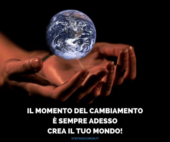 azione, cambiamento, crea il tuo mondo con le rendite per essere libero