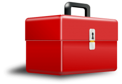 toolbox, cassetta degli attrezzi